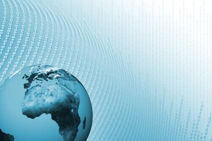 Globale digitalisierung internet Hintergrund